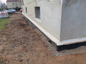 03 - Isolantion des pieds de murs
