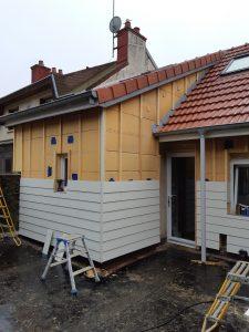 15 - Littelage et début de façade